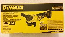 "New Dewalt DCG413B 20V Max XR 4-1/2"" Brushless Paddle Switch Angle Grinder NIB"