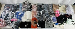 Lot of 43 New/NWT Assorted Brands Women's Clothing Items Size XS/S -BBJ1579