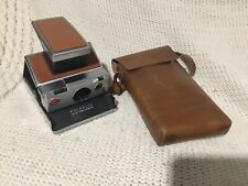 Vintage Untested Polaroid SX 70 Land Camera with original leather case