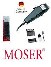 Moser Profesional Recortador de vellos Edición 1400 Negro + 6 Piezas