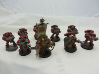 Warhammer 40K Space Marine squad army lot painted army lot