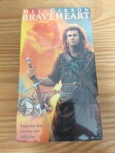 Braveheart Mel Gibson VHS - 2 VHS Box Set Sealed Collectors NEW FREE SHIP