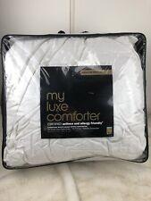 Bloomingdale's My Luxe Goose Down FULL / QUEEN Down Comforter Medium Weight FLAW