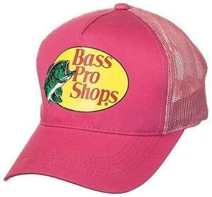 BRAND NEW! Bass Pro Shops Mesh Fishing Hat Ladies - Pink
