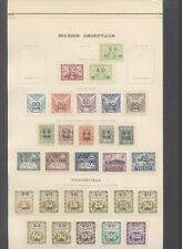 Czechoslovakia 1920 - MH Stamps on Collector Page D87