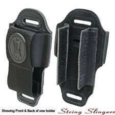 Levy's MM4 Leather Wireless Guitar Transmitter Holder