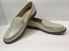 Womens Bronze Metallic Leather Sperry Topsider Loafers Size 7 NEW