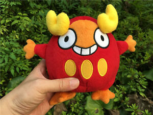 "Original Takara Tomy Pokemon Plush Stuffed Doll 7"" Darumaka Figure New"