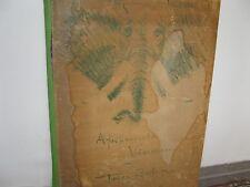 BEHN Fritz,  *1878  Afrikanische Visionen Mappe  Graphik