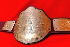 WWF World Heavyweight Wrestling Championship Belt Leather Title Adults Replica