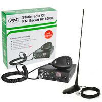 Radio CB PNI ESCORT HP 8000L ASQ + CB PNI Antenna Extra 45 con magnete