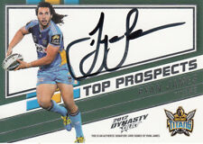 2012 NRL DYNASTY TOP PROSPECT SIGNATURE - TPS5 RYAN JAMES GOLD COAST TITANS #078