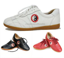 Kids& Adult Martial Arts Tai Chi Footwear Kung Fu Wingchun Soft Leather Shoes