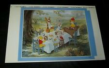 Original 1977 WINNIE THE POOH  Disney  1/2 SHEET TEST PROOF POSTER