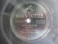 "78rpm 10"" RCA Victor Java Junction Our Love Story 20-3752 Beneke 198-5AF"
