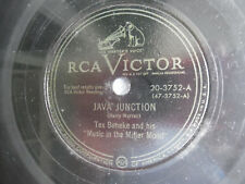 "78rpm 10"" RCA Victor Java Junction Our Love Story 20-3752 Beneke 198-5AF"