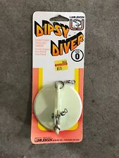 Vintage Luhr Jensen White Directional Trolling Sinker Dipsy Diver Size 0