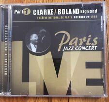 "New ListingClarke/Boland Big Band 1 Cd ""Paris Jazz Concert"" Live in Paris1969  - Very good"