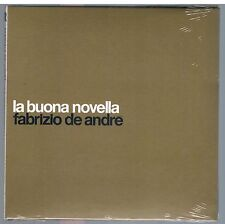 FABRIZIO DE ANDRE' LA BUONA NOVELLA .CD cm. 16x16 DIGIPACK EDITORIALE SIGILLATO!