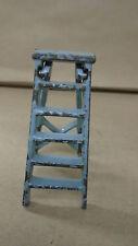 Vintage Arcade cast iron step ladder toy