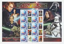 AUSTRALIA STAMPS 2005 SMILERS SHEET STAR WARS REVENGE OF THE SITH COLLECTION
