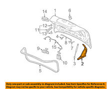 Pontiac GM OEM 04-08 Grand Prix Trunk Lid-Hinge Left 10345151