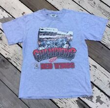 NHL Detroit Red Wings 1997 Stanley Cup Hockey Champions Lee Sports Shirt Medium