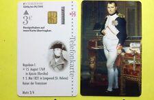 A15/2002 Telefonkarte Auflage 6000 Stück  Napoleon I. Kaiser , Berühmte Männer