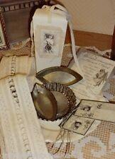 Set Teller Keramik + Backförmchchen alt Karten Jeanne d'Arc Living Shabby Chic