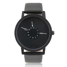 Luxury Men Casio Sub-brand Stanless Steel Leather Band Analog Quartz Wrist Watch