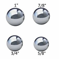 """Assorted Coin Ring Making Steel Balls - Assortment Of 1"""", 7/8"""", 3/4"""" & 5/8"""""""