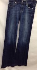 DPD Womens 26 Blue Jeans Flared Bottom Inseam 33