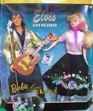 1997 BARBIE LOVES ELVIS (KEN & BARBIE) GIFT SET - COLLECTOR EDITION - MNRFB