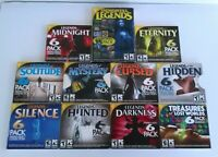 On Hand Lot Of 10 Hidden Object Games & 1 Gem Matching Game PC CD-ROM