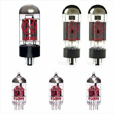 2x 6L6GC + 3x ECC83S + 1x GZ34 JJ-Electronic tube amp set MARSHALL JTM45 2245