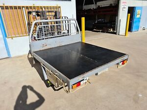 #30 DUAL CAB STEEL TRAY TWIN CAB TRAY STEEL UTE TRAY COLORADO DMAX RODEO...