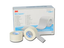 "Genuine 3M MICROPORE Paper Surgical Tape 1"" 12 rolls/bx"