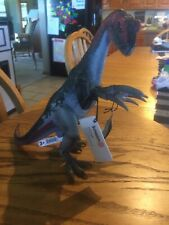 Schleich Therizinosaurus Toy Figure-Red, Black and Gray Color Pattern