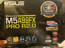 ASUS M5A99FX Pro R2.0 with AMD 990FX/SB950 ATX Motherboard - Socket AM3+