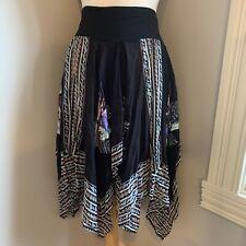 Free People Lydia Leopard-Print Skirt Mult Sz