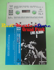 MC GRAND FUNK RAILROAD Live album 1 1971 italy CAPITOL 1806844 no cd lp dvd vhs