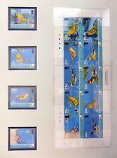 BRITISH VIRGIN ISLANDS 2005 Birds Set & M/Sheet U/M NB2979
