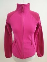 K497 WOMENS BERGHAUS PINK HIKING WALKING FULL ZIP JACKET TOP UK S 8