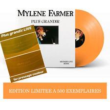 PREMIER PRESSAGE ! MYLÈNE FARMER - PLUS GRANDIR LIVE - VINYLE SCELLÉ !