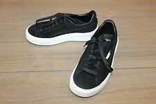 Puma Suede Platform Retro Shoes - Women's Size 5.5, Black/White