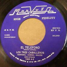 Los TRES CABALLEROS El Telefono / Chamaca LATIN 45 P.R.
