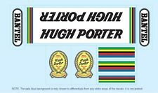 Hugh Porter Bicycle Decals-Transfers-Stickers #2