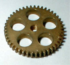 50 Tooth Wide BRASS SPUR GEAR 1960's Vintage Classic Ind #500 Slot Car Parts