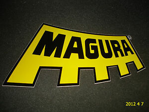 1 AUTHENTIC LARGE MAGURA FORKS STICKER / DECAL