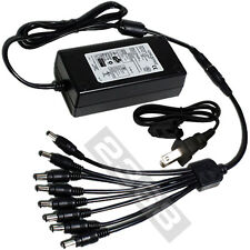 Premium 5Amp Power Adapter with 8 way splitter for Swann Cameras